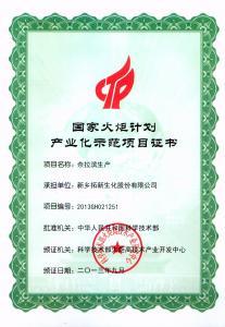 国家火炬计划(奈拉滨生产)